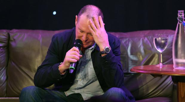 Lost soul: the troubled Paul Gascoigne makes a living doing personal appearances, entertaining punters with tales from on and off the pitch, but recently returned to rehab