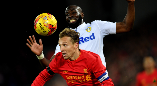 Cup specialist: Lucas Leiva has been featuring in the two cups