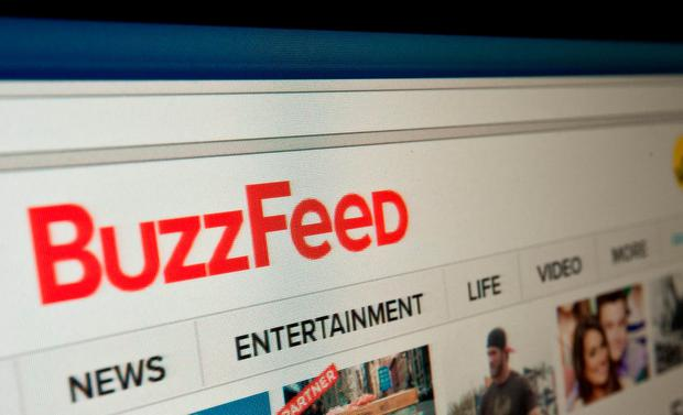 A media firestorm erupted January 11, 2017 after BuzzFeed published an unverified report with salacious details on purported intelligence gathered by Russia on President-elect Donald Trump. AFP/Getty Images