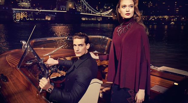 Fashion brand Ted Baker enjoyed a successful Christmas period