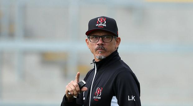 Sweeping changes: Ulster's director of rugby Les Kiss