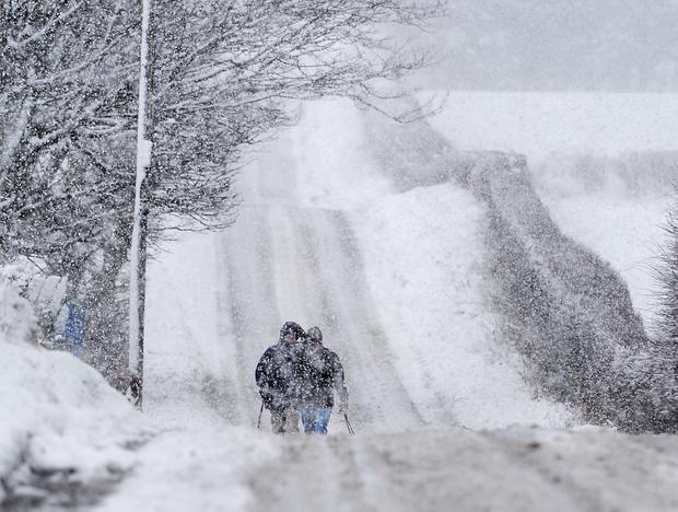 Met Office issue ice warning for North-east tonight