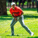 In the hunt: Rory McIlroy hit an opening 67 at the BMW SA Open