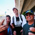 Picture perfect: Andy Murray meets fans in Australia