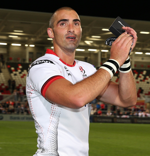 Superstar Springbok: Ruan Pienaar is determined to make the most of his remaining days at Kingspan Stadium