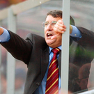 Pointed response: Taylor in the dugout when managing Aston Villa