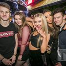 People out at Filthy McNasty's for Dsqo. Thursday 12th January 2017. Picture by Liam McBurney/RAZORPIX