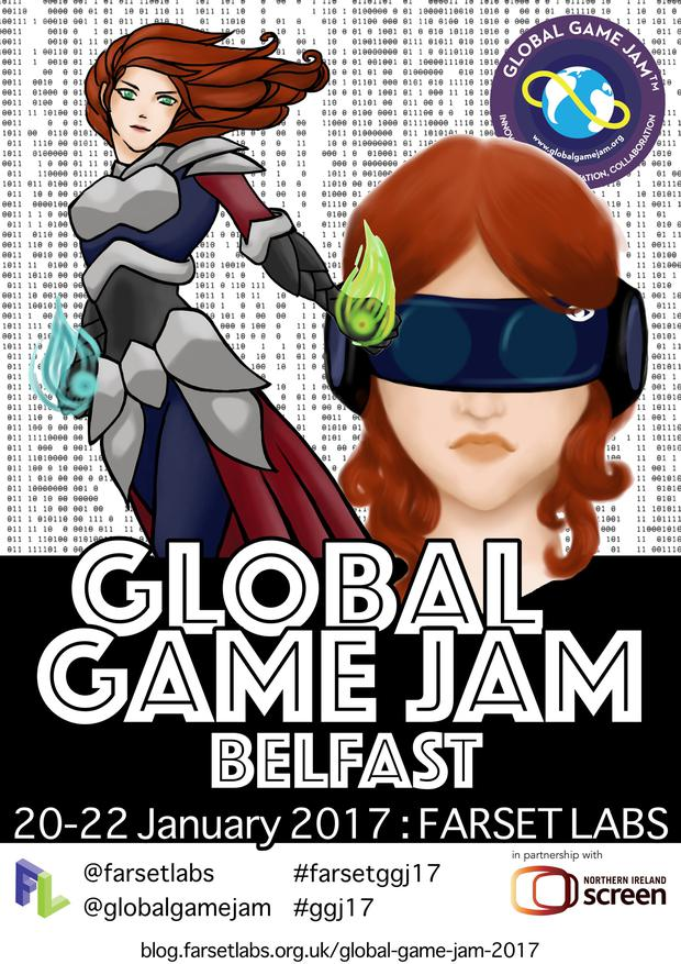 Global Game Jam Belfast: Programmers come together to create an innovative and original game by the end of the weekend