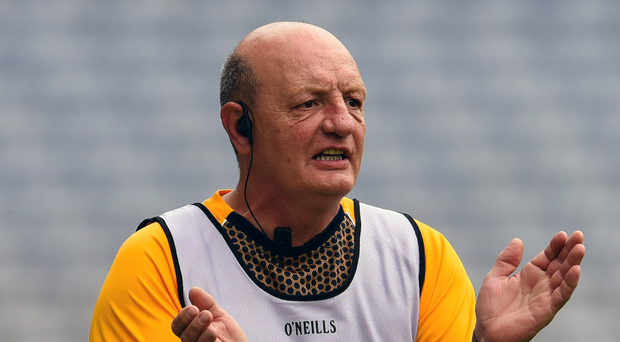 Taking care of his own: Terence McNaughton admits he just can't walk away from helping his county Antrim