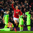 Top gun: Zlatan Ibrahimovic nets the equaliser for Manchester United