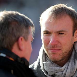 Confrontational: ex-Ulster star and television pundit Stephen Ferris