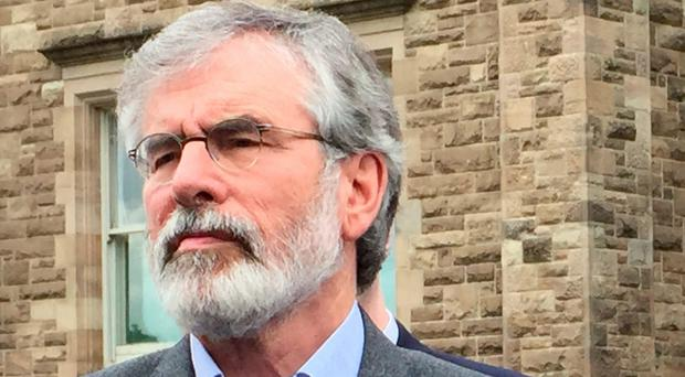 Gerry Adams and Martin McGuinness. Photo: Lesley Anne McKeown/PA Wire