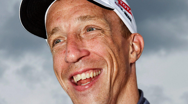 Leading the way: Kris Meeke