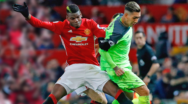 Swing and a miss: Paul Pogba didn't impress against Pool