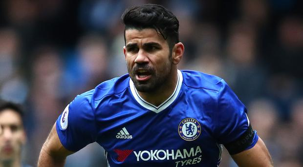 Unclear future: Chelsea's Diego Costa has a number of offers