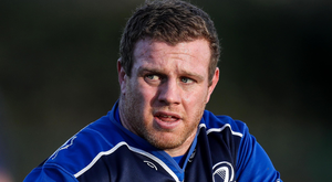 Sidelined: Leinster ace Sean Cronin tore his hamstring