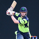 Pushing on: William Porterfield is hoping to build momentum after helping Ireland end their seven-game losing streak in T20 cricket