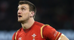 Six years: Sam Warburton's reign as Wales captain is over
