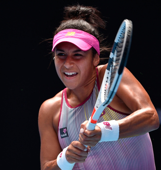 Big goal: Heather Watson admits she has struggled with life on tour in the past