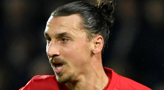 Tall order: Zlatan Ibrahimovic insists United have title hopes