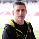 Back on track: Ulster skills coach Niall Malone, at the Kingspan yesterday, has stressed what a confidence booster beating Bordeaux would be