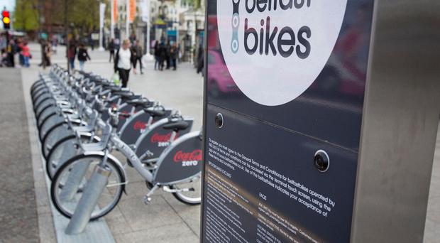 Belfast Bikes are currently free to rent for the first 30 minutes