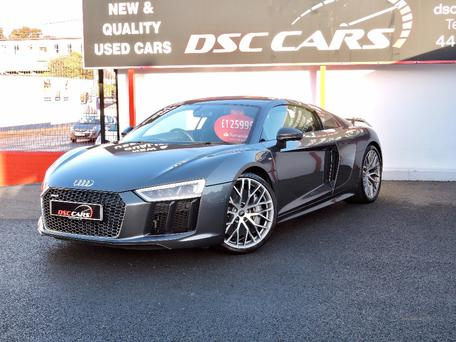 No 15 - £123,582 - Mar 2016 Audi R8 PLUS QUATTRO V10 S-A
