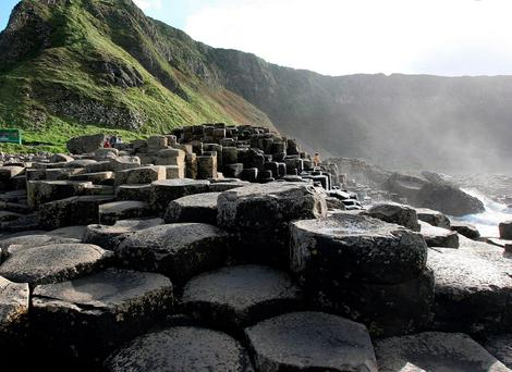 The Giant's Causeway and Game of Thrones are huge draws for international visitors
