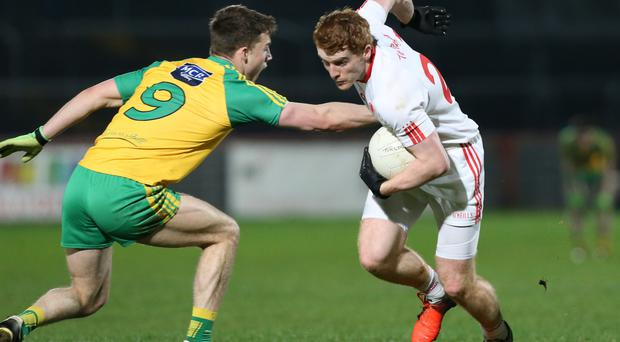 Running the show: Peter Harte's authority within the Tyrone side is underpinning their progress
