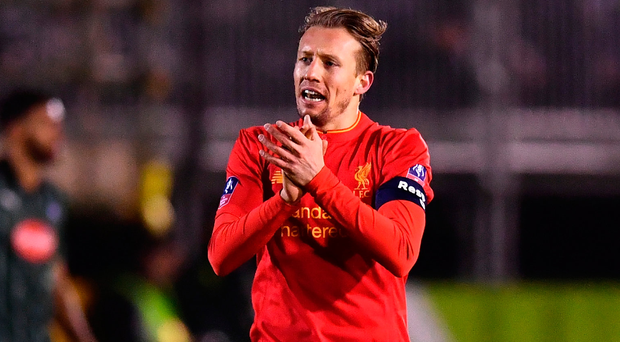 Honours quest: Lucas Leiva may remain with Reds for now