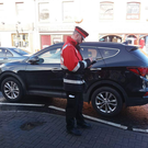 A traffic warden are also set to be pulled from some towns.