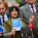A major report into Historical Institutional Child Abuse in Northern Ireland has been published. Abuse victims group says report is vindication. Margaret McGuckin, whose brother was one of the victims of sexual abuse, said today is what victims have
