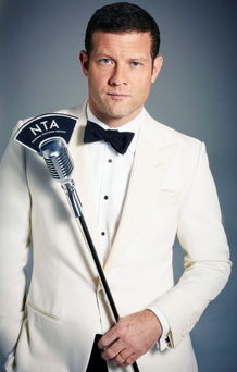 In tune: Dermot O'Leary is looking forward to the National Television Awards