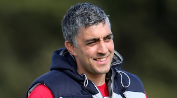 Ulster 'A' manager Kieran Campbell