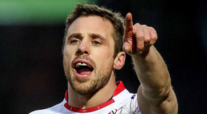 Familiar face: Tommy Bowe is back in the Ulster starting line-up