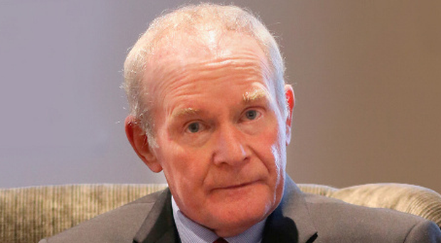 Martin McGuinness announcing his retirement from politics