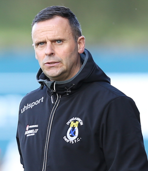Dungannon manager Rodney McAree