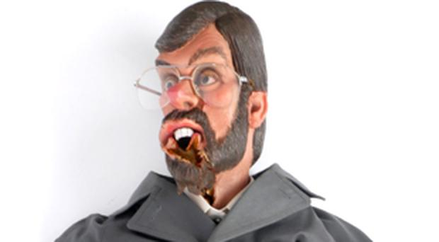 Gerry Adams puppet
