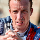 Ignominy: Kris Meeke's C3 was damaged in a traffic accident
