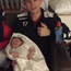Craig McClean with new son Toby