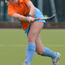 Lynsey in action playing hockey for Ards