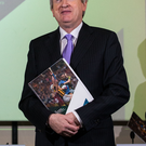 Pointing way: Paraic Duffy unveils his annual report today