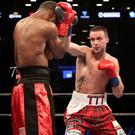 Rising star: Josh Taylor is closing in on world title shot