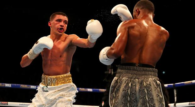Top fighter: Lee Selby could be Carl Frampton's next opponent