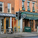 Greens Pizza and Pizza Express on Lisburn Road