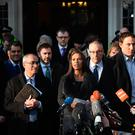 Gina Miller speaking outside The Supreme Court in London after Britain's most senior judges ruled that Prime Minister Theresa May does not have the power to trigger the formal process for the UK's exit from the European Union without Parliament having a say.