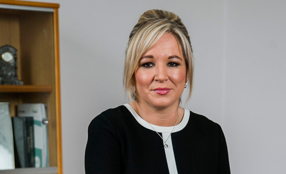 Michelle O'Neill is looking for movement on several issues