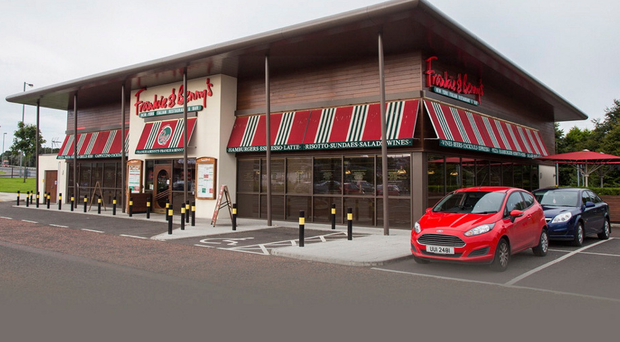 Closed: Frankie & Benny's in Derry
