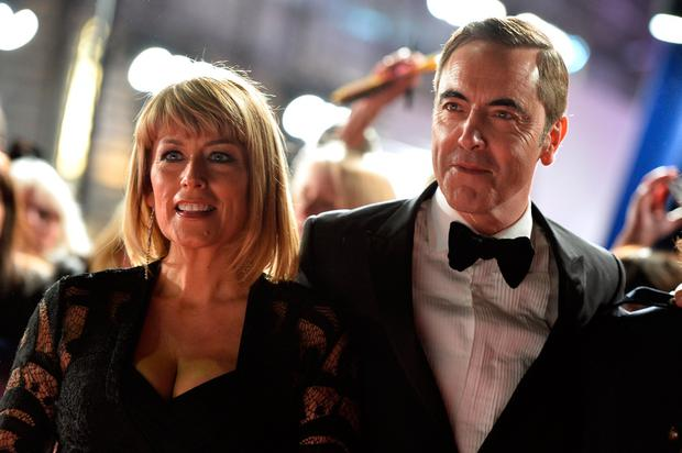 Fay Ripley and James Nesbitt attends the National Television Awards on January 25, 2017 in London, United Kingdom. (Photo by Jeff Spicer/Getty Images)