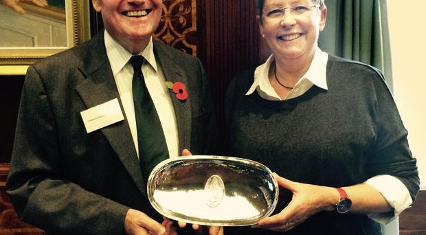 Professor Alan Bittles with his wife Marilyn